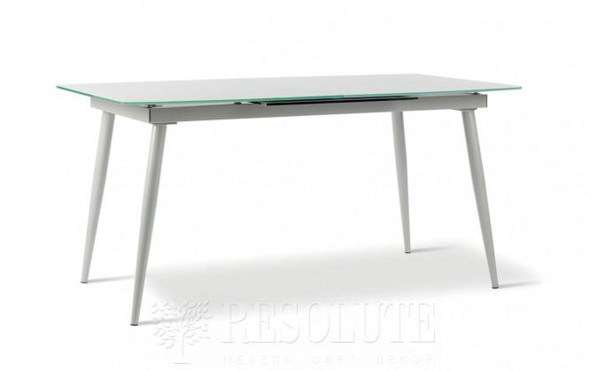 Стол металлический со стеклом Felix TM 1281 Natisa