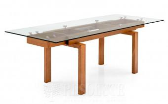 Стол деревянный со стеклом HYPER CS/416-XR Calligaris