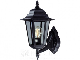Настенный светильник уличный MARKSLOJD NAIMA Black 100290