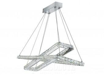 Люстра светодиодная подвесная LED CLOVER Searchlight 7123-CC