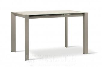 Стол металлический со стеклом CLINT TM 1271 Natisa