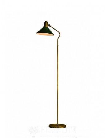 Торшер Martello Herstal brass/green 14004270421