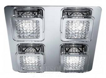 Потолочный светильник Searchlight QUADRANT 7324-4CC