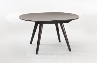 Стол деревянный со стеклянной столешницей Aris 110 Natisa TL 1324
