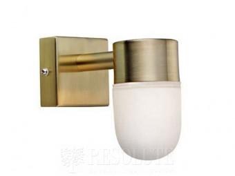 Настенный светильник для ванной комнаты MARKSLOJD MENTON Brass 106374