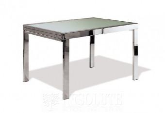 Стол металлический со стеклом Treviso-120 Natisa