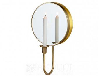 Настенный светильник MARKSLOJD MIRROR Gold 105702