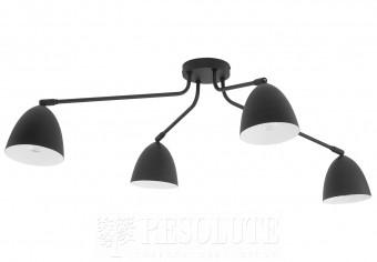 Потолочная люстра LORETTA 4-BK TK-Lighting 2485