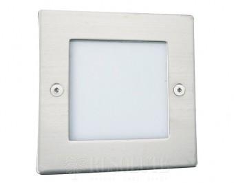 Настенный/напольный светильник Searchlight SQUARE CHROME 9907WH