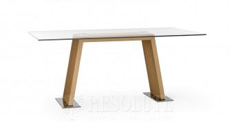 Стол деревянный со стеклом Spiga Natisa TL 1221
