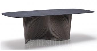 Стол деревянный с керамической столешницей NATISA TL 1911 ORBIT 200