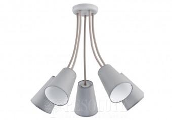 Потолочная люстра WIRE GRAY 5 TK-Lighting 2101