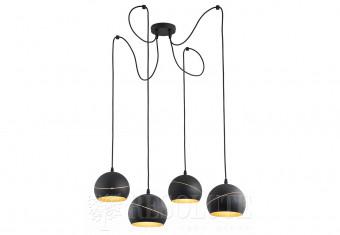 Подвесная люстра YODA BLACK ORBIT 4 TK-Lighting 2221
