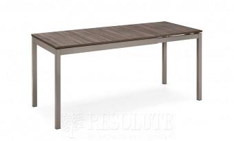 Стол металлический CB/4085-ML 120 SNAP WOOD Connubia