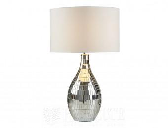 Настольная лампа Searchlight Clayton EU1064CC