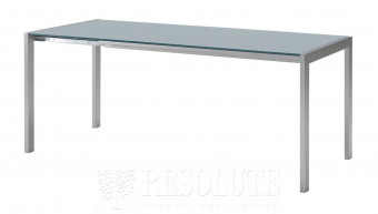 Стол металлический со стеклом Oplà L110 MIDJ