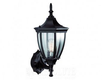 Настенный светильник уличный MARKSLOJD JONNA Black 100320