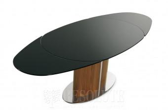 Стол металлический со стеклом Odyssey CS/4043 Calligaris