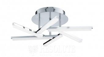 Люстра потолочная светодиодная LED SOLEXA Searchlight 9006-6СС