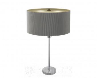 Настольная лампа Searchlight Drum Pleat EU4562-2SI