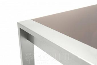 Стол металлический со стеклом Olivo&Godeassi G/4749-V Excel