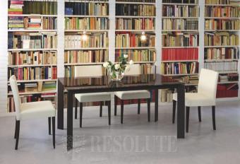 Стол металлический со стеклом Olivo&Godeassi G/4751 Steel