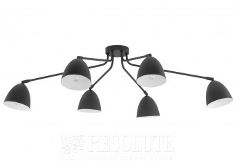 Потолочная люстра LORETTA 6-BK TK-Lighting 2486