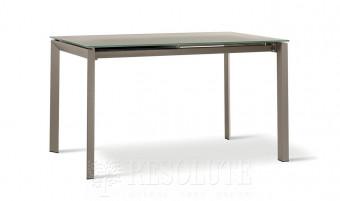 Стол металлический со стеклом Derby TM 1291 Natisa