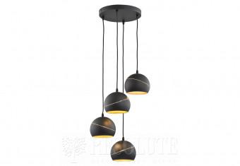 Подвесная люстра YODA BLACK ORBIT 5 TK-Lighting 2083