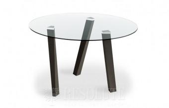 Стол деревянный со стеклянной столешницей Glam Natisa TL 1161