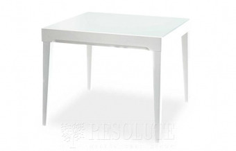 Стол деревянный со стеклом Fly CB/4702-V90 White Connubia