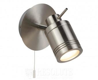Спот настенный для ванной Searchlight Samson 6601SS