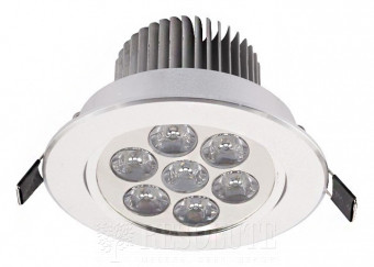 Точечный светильник Nowodvorski DOWNLIGHT LED 7 silver 6823