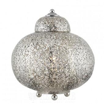 Настольная лампа Searchlight Moroccan EU8221-1SS