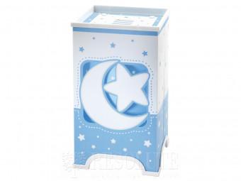 Детская настольная лампа Dalber Moon Blue 63230T