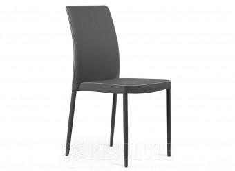 Металлический стул обитый экокожей Kimi SM 1721 Natisa