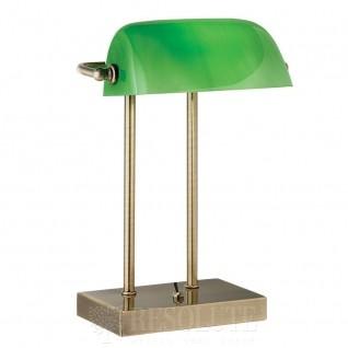 Настольная лампа Searchlight Bankers EU1200AB