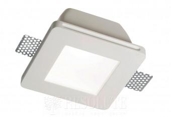 Точечный светильник SAMBA FI1 SQUARE BIG GLASS Ideal Lux 150116