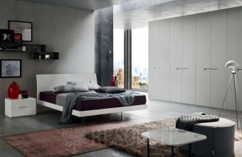 Кровать двуспальная VIKI Maronece ACF Q581