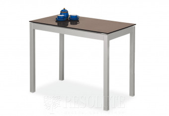 Стол металлический со стеклом Olivo&Godeassi G/4775-V Win