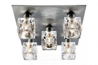 Светильник для ванной комнаты Searchlight ICE CUBE 2275-5SS