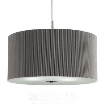 Подвесной светильник Searchlight Drum Pleat Pendants 2353-40SI