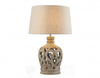 Настольная лампа Searchlight Flourish EU6070GY
